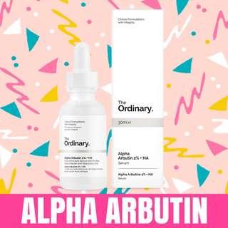 🛒Ready stock The Ordinary Alpha arbutin 2% + HA