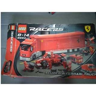 LEGO RACERS SCUDERIA FERRARI TRUCK