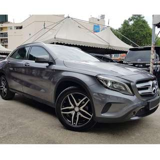 Mercedes Benz GLA200 1.6 Turbo (A) 2016