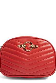 Topshop Red Bum Bag
