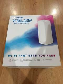 Linksys Velop let your Wifi Fly