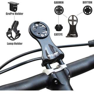 🆕! Carbon Speedometer / Computer Handlebar Holder For Garmin CATEYE Bryton Bracket MTB Road Bicycle Led Gopro Mount    #OK