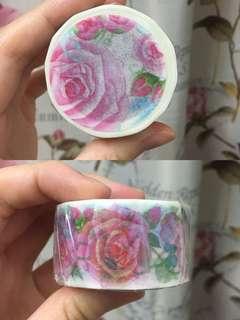 Endu Path Syoukei Washi Tape Masking Tape Rose
