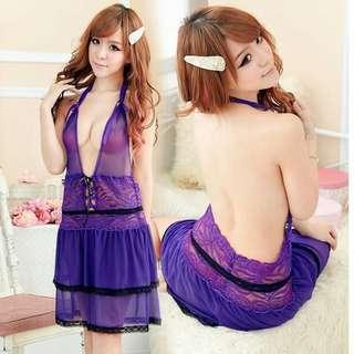 Violet Lingerie Set