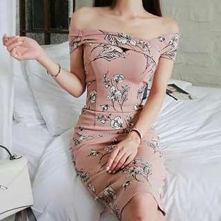 Bodycon Offshie Dress