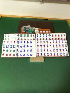 Mahjong Set brownish color