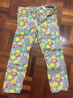 Floral Poney Pants