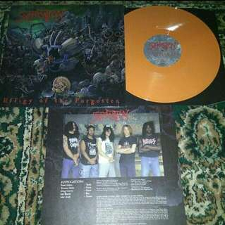 Suffocation Vinyl LP Record
