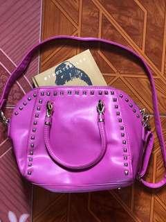 Hot Pink Satchel Bag
