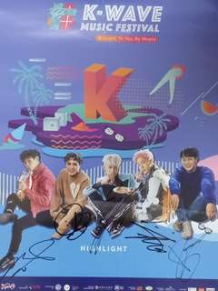 Highlight signature poster