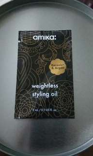 amika Weightless styling oil (包平郵)