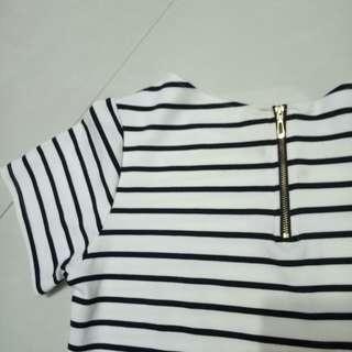 Reprice Croptop stripes