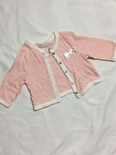 Cherokee baby girl's cardigan