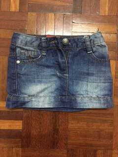 Miki Jeans Skirt