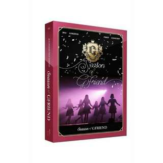 GFRIEND - SEASON OF GFRIEND DVD (2018 GFRIEND FIRST CONCERT)