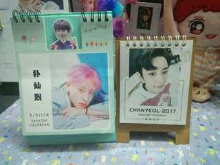 [WTS]EXO CHANYEOL CALENDER SET