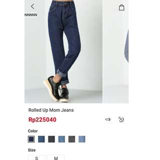 SHEIN roll up jeans