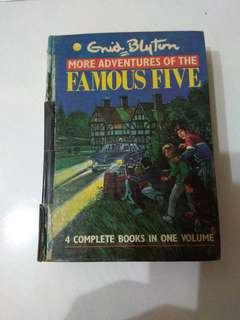 Enid Blyton more adventures of tuee Famous Five