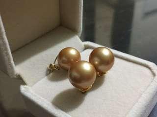 South-sea pearls set