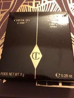 (購自英國)(包郵)(有單)Charlotte Tilbury 胭脂 Cheek to Chic