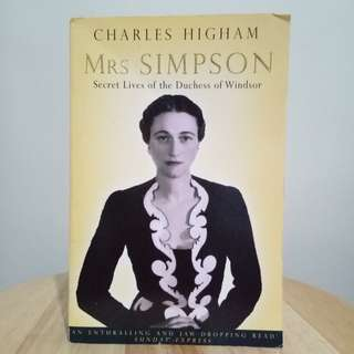 Biography of Wallace Simpson, Duchess of Windsor
