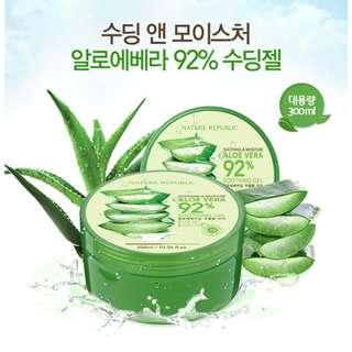 SALE 50% Nature Republic Soothing & Moisture Aloe Vera Gel 92%
