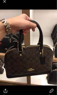 coach satchel sierra mini