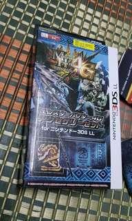 original hori nintendo 3ds xl monster Hunter 4u case/covers