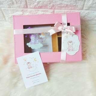 Pink Jewellery box baby hampers souvenir