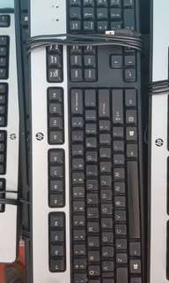 Heavy Duty HP Keyboard and Assorted Mouse