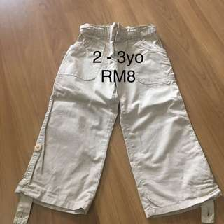Boy Khakis Pants