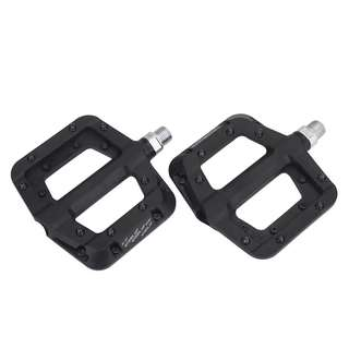 🆕! Ultra light Weight MTB Nylon Composite Black Pedals   #OK