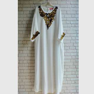 [NEW] Gamis / Kaftan Putih Mission72