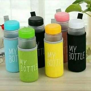 botol minum anak free pouch busa