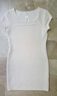 Forever 21 PLUS SIZE cream bodycon with tag