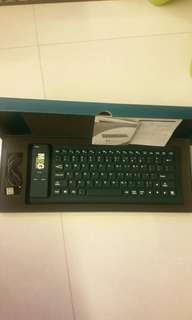 Wireless Keyboard Bluetooth flexible