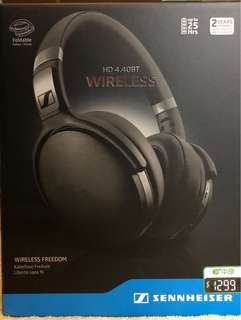 無線耳機Sennheiser Wireless HD4.40BT