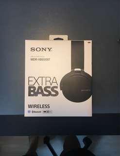 Used Sony MDR-XB650BT  Black