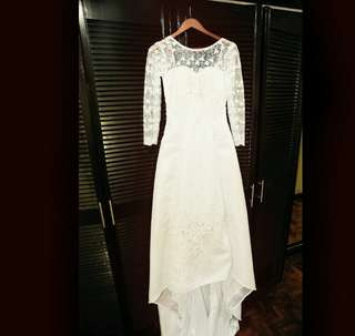 Wedding Gown & Accesories free sf