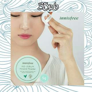 Innisfree No-Sebum Mineral Water Kode-KB