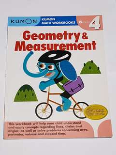 Kumon Math Workbooks - Geometry & Measurement