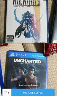 Final fantasy the zodiac age, unchartered the lost legacy
