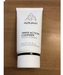 Alpha H Triple Action Cleanser Travel 30mls