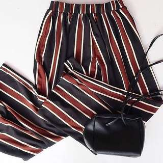 Kulot stripe ( Darkbrown)