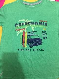 Baju california hijau
