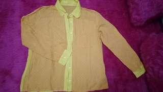 Kemeja yellow
