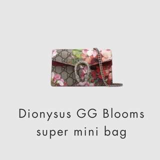 LOOKING FOR Gucci Super mini dionysus floral bloom