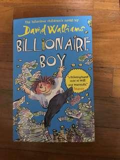 David Williams Billionaire Boy
