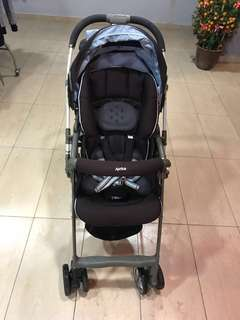 Aprica Air Ria Luxuna Baby Stroller (Brand of Japan)