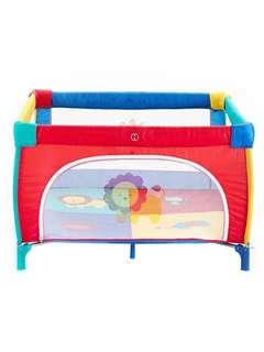嬰兒遊戲床 圍欄